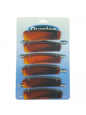 Duralon Pocket Combs - Tort (13cm)