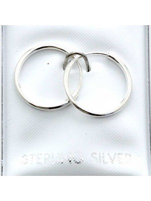 Wholesale Sterling Silver Pain Sleepers-8mm