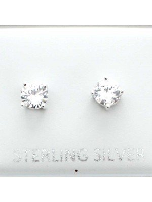 Wholesale Sterling Silver Round Stud-5mm