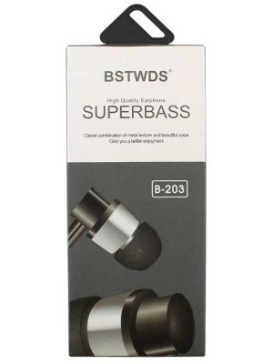 Wholesale BSTWDS High Quality Super Bass Earphone - Assorted Colours