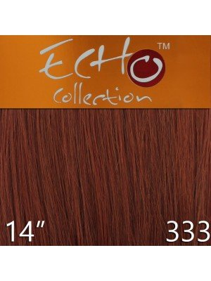 Echo 14'' Long Human Hair Weave Extensions - Colour No. 333