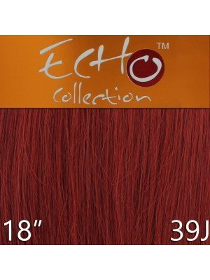 Echo 18'' Long Human Hair Weave Extensions - Colour No. 39J