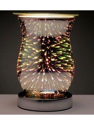 Eden Star Burst Fluted Electric Wax Warmer - 16cm