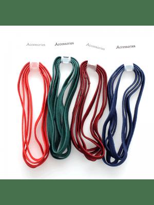 Elastic Headbands - School Colours Assortment