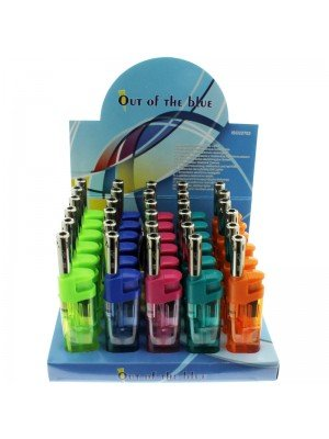 Electronic Utility Refillable Lighters- Assorted Colours