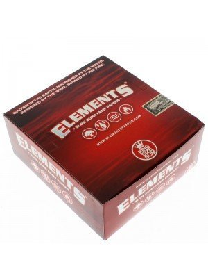 Elements Red King Size Slim Slow Burn Hemp Rolling Paper