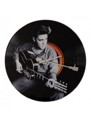 Wholesale Elvis With Guitar Wall Clock