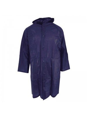Wholesale Emergency Rain Poncho One Size - Navy