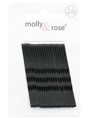 Wholesale Enamel Kirby Grips. - Black (4.5cm)