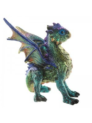 Enchanted Nightmare Spirit of the Elements Dragon Figurine (B) - 13cm 72646