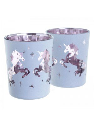 Enchanted Unicorn Tealight Votive Holders