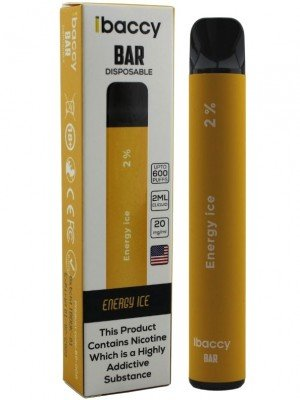 Wholesale iBaccy Bar Disposable Vape - Energy Ice