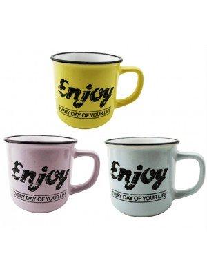 Enjoy Everyday Of Your Life Mug - Assorted Colours