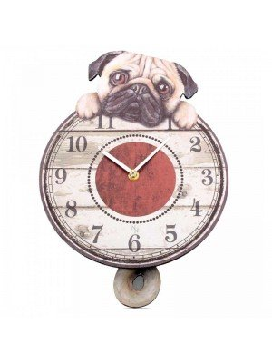 Wholesale Puggin' Tickin' - Wall clock