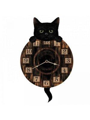 Wholesale Kitten Tickin' 32cm - Pendulum Cat Wall Clock