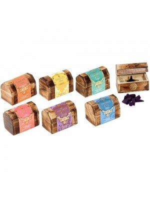 Wholesale Esscents Incense Cone Wooden Gift Set