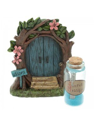 Ethereal Realm Door and Fairy Dust with Secret Message - Blue