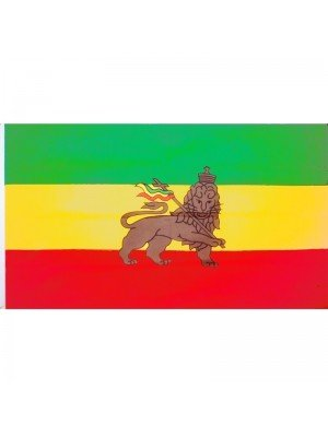 Ethiopia's Flag (Lion of Judah) 5ft x 3ft