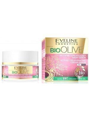 Eveline 100% Organic Bio Olive Oil Actively Rejuvenating Cream Serum - 50ml