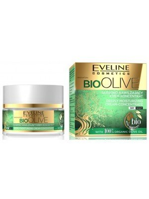 Eveline 100% Organic Bio Olive Oil Deeply Moisturizing Cream - 50ml