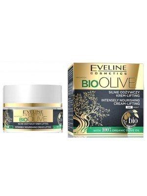 Eveline 100% Organic Bio Olive Oil Intensely Nourishing Lifting Cream - 50ml