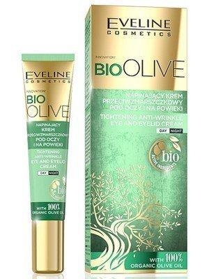 Eveline 100% Organic Bio Olive Oil Tightening Anti-Wrinkle Eye & Eyelid Cream