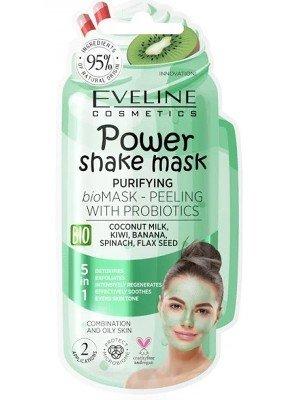 Eveline 5 in 1 Purifying Power Shake Mask Peeling With Probiotics
