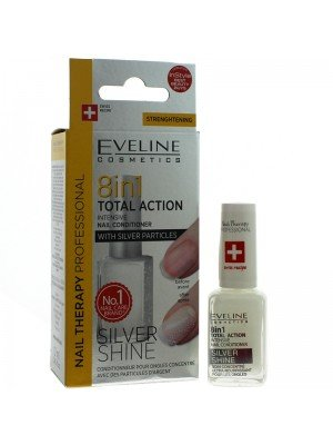 Eveline 8 IN 1 Intenstive Nail Conditioner - Silver Shine