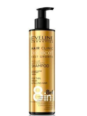 Eveline 8 In 1 Oleo Expert Fast Growth Shampoo - 245ml