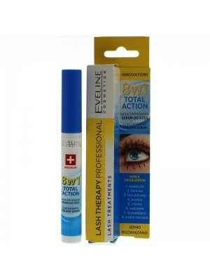Eveline 8-IN-1 Total Action Concentrated Eyelash Serum Intensive Care