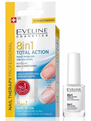 Eveline 8-IN-1 Total Action Intensive Nail Conditioner