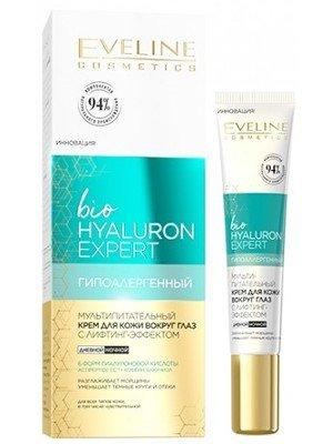 Wholesale Eveline Bio Hyaluronic Multi-nutrient Lifting Eye & Eyelid Cream
