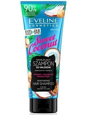 Eveline Cosmetics Sweet Coconut Moisturizing Hair Shampoo-250ml