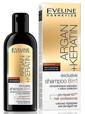 Eveline Exclusive Shampoo - 8in1