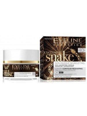 Eveline Exclusive Snake Luxury Contour Reshaping Cream (40+) - 50ml (Day/Night)
