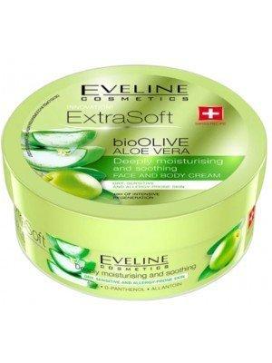 Eveline Extra Soft Bio Olive Aloe Vera Moisturising Face & Body Cream