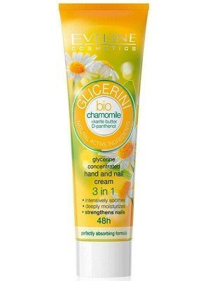 Eveline Glycerine Concentrated Hand and Nail Cream - Chamomile