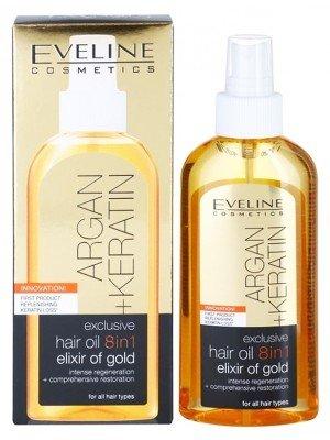 Eveline Hair Oil 8in1 - Elixir of Gold-150ml