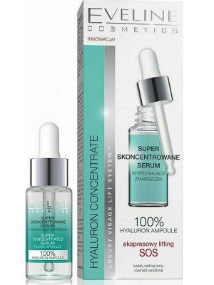 Eveline Hyaluron Super Concentrated Anti-Wrinkle Serum - 18ml