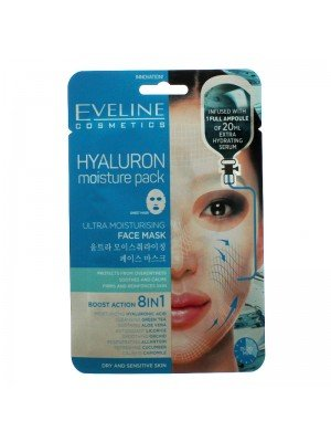 Wholesale Eveline Hyaluronic Ultra Moisturising Face Sheet Mask