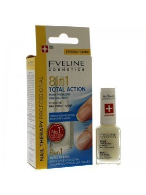 Eveline 8-IN-1 Total Action Intenstive Nail Conditioner