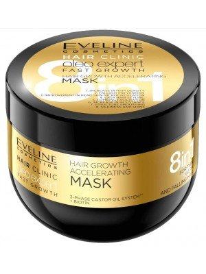 Eveline 8 in 1 Oleo Expert Fast Hair Growth Mask - 500ml
