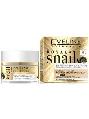 Eveline Royal Snail Concentrated Actively Smoothing Cream - Day and Night (30+)