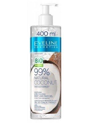 Eveline Vegan 99% Natural Coconut Face & Body Gel - 400ml