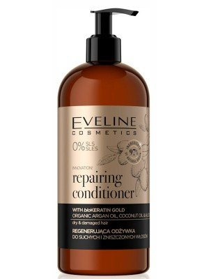 Eveline Vegan Repairing Conditioner With BioKeratin Gold - 500ml