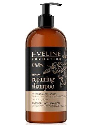Eveline Vegan Repairing Shampoo With BioKeratin Gold - 500ml