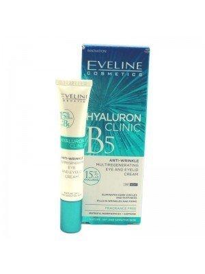 Wholesale Eveline Hyaluron Clinic B5 Anti-Wrinkle Eye & Eyelid Cream-20ml
