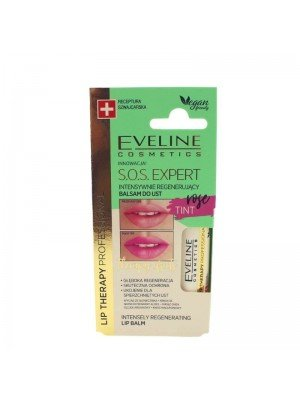 Wholesale Eveline Lip Therapy S.O.S. Expert Intensively Regenerating Lip Balm - Rose
