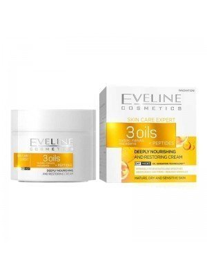 Wholesale Eveline Deeply Nourishing And Restoring Cream - 3 Oils + Peptides