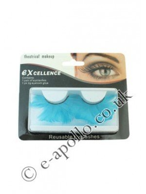 Excellence Reusable Eyelashes - Sky Blue